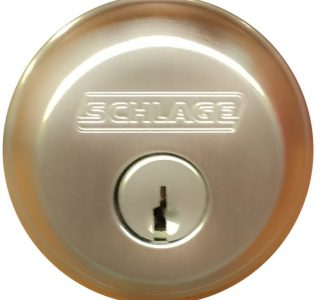 dead bolt of schlage
