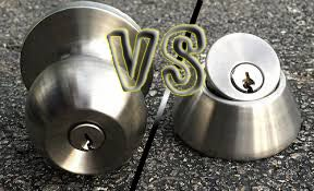 deadbolt vs. door knob - Naples Locksmith 24:7