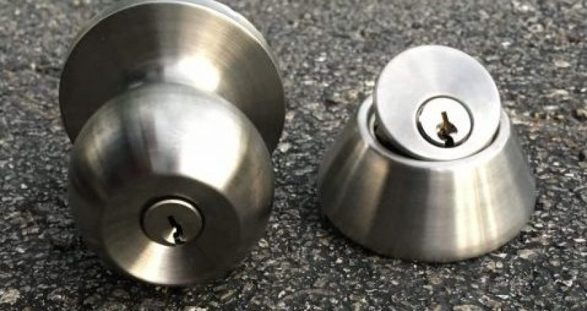 Deadbolt Lock VS. doorknob Lock